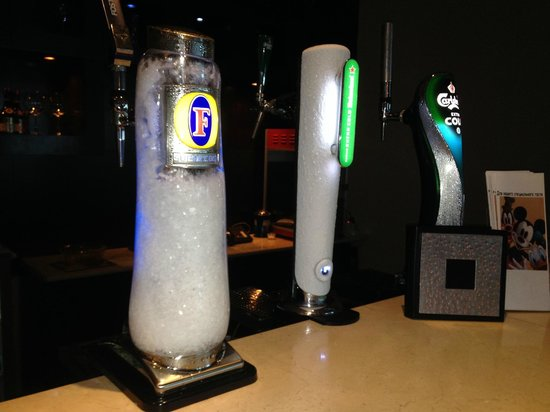Radisson Blu Resort Fujairah: Beer is really ice cold!