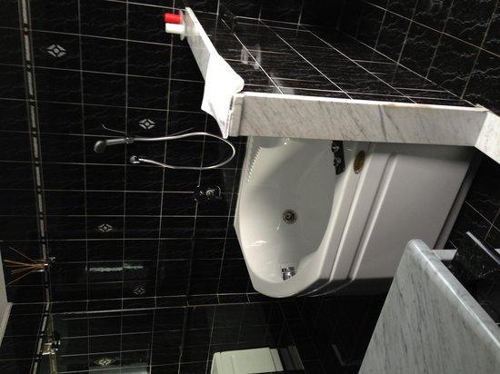 Florence Comfort B&B : 嬉しい浴槽。イタリアでは珍しいです。