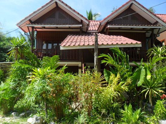Phongsavanh Resort: View from the garden