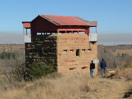Platberg Harrismith Backpackers : British Blockhouse 3km from us