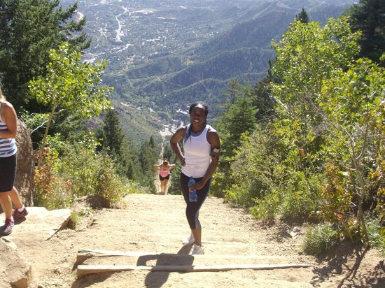 Manitou Springs Incline : almost there