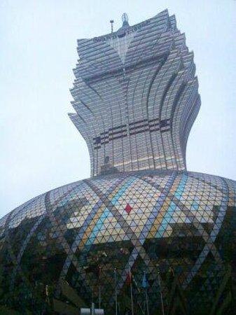 Hotel Lisboa Macau : 部屋からの眺め