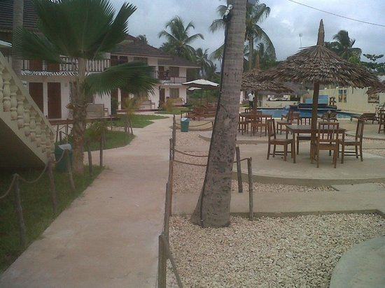 Kitete Beach Bungalows : The place