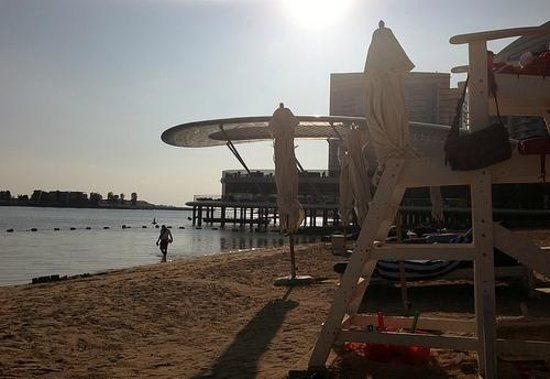 Jumeirah at Etihad Towers: Beach