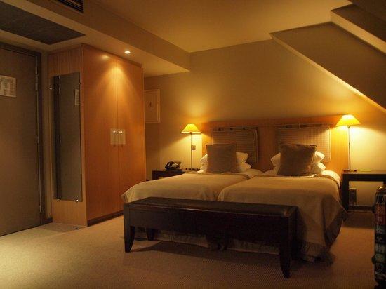 Martin's Klooster Hotel: hotelkamer