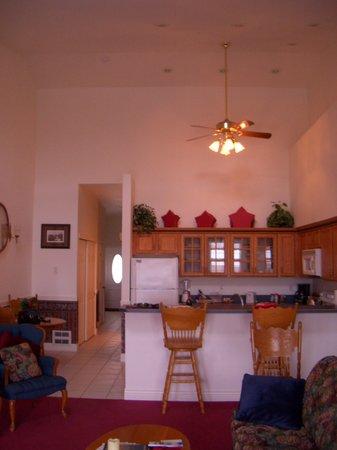 Judith Ann Inn: The kitchen