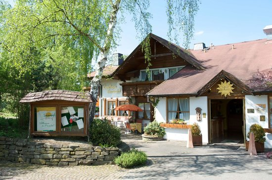 Landhaus Sonnenhof: Haupteingang