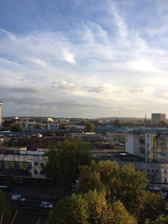 Holiday Inn Bristol City Centre: View from room.