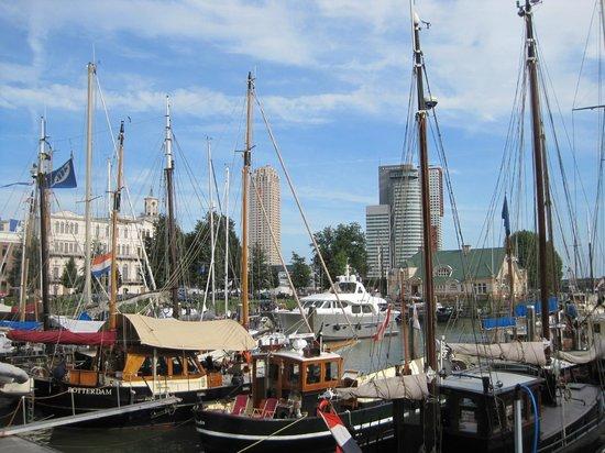 Veerhaven with Wilhelminapier in the background