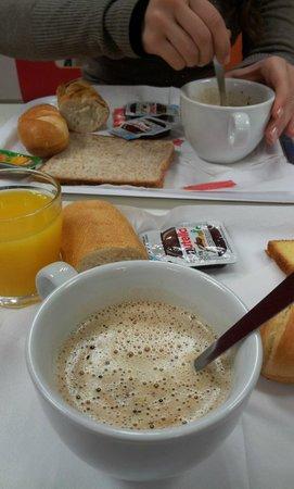 Premiere Classe Roissy - Le Mesnil Amelot : Colazione