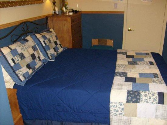 La Boheme Bed and Breakfast : fleur bleue