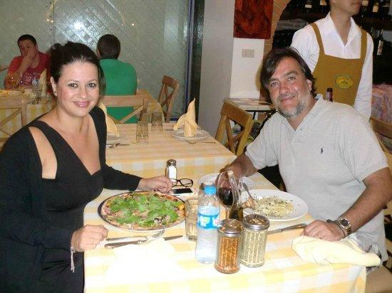 Pizzeria Limoncello : Cenando con mi marido