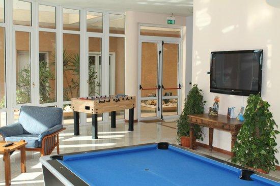 Minerva Hotel : Area Calcio Balilla
