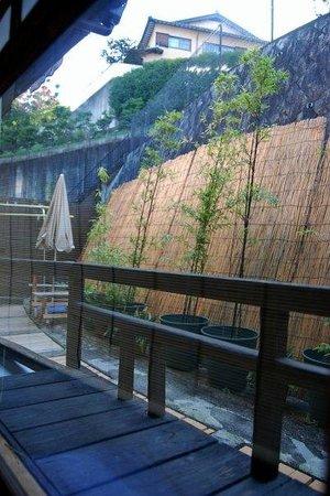 Hanakiya Inn : view from room