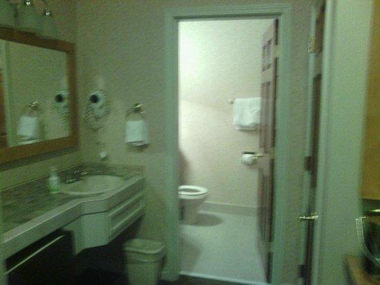 Pine Ridge Inn: Bathroom