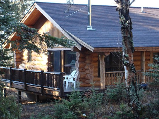 Cascade Lodge: Cabin 14 perched above Cascade's stream