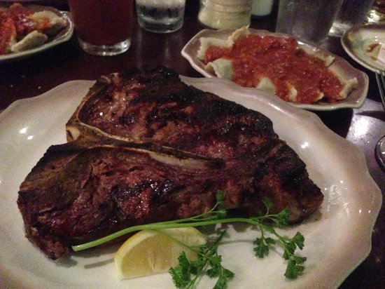 Original Joe's Restaurant: T-Bone Steak Medium Rare!