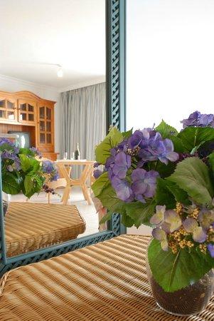 salon comedor - Bild von Apartamentos Playa Delphin, Puerto de Naos ...