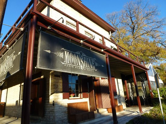 Great Food at Moonshine - Picture of Moonshine Patio Bar & Grill ...