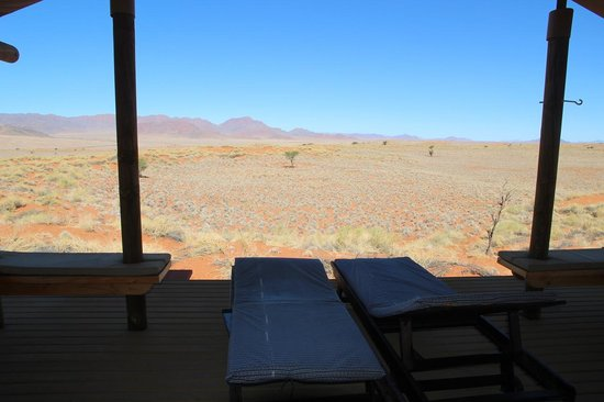 Wolwedans Dune Camp: The view from our veranda