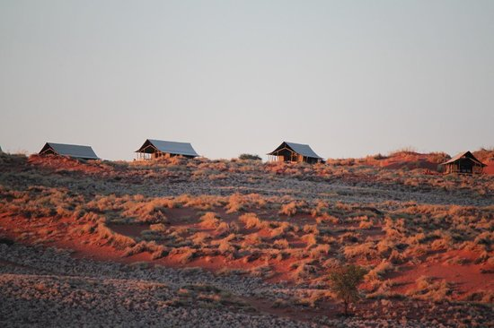 View of the Wolwedans Dune Camp