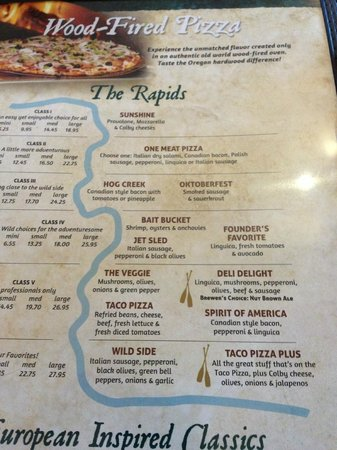 """Wild River Brewing & Pizza Company: Check out """"The Bait Bucket"""""""