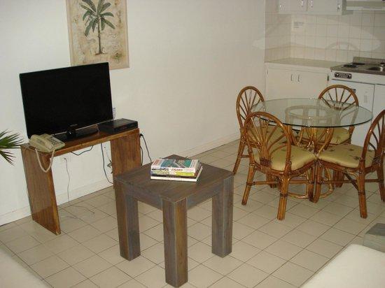 L'Esperance Hotel: Salotto della camera