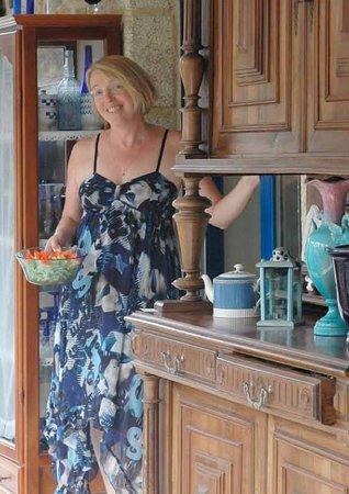 Ty puns : Brigitte vous sert le petit dejeuner bio