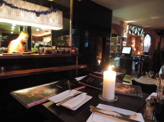Restaurant Nova: Интерьер ресторана