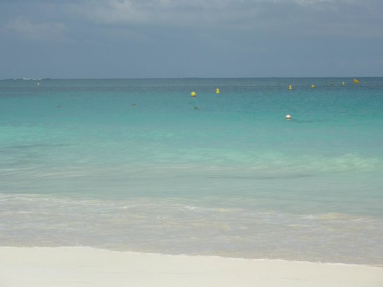 L'Esperance Hotel: Spiaggia Orient Bay