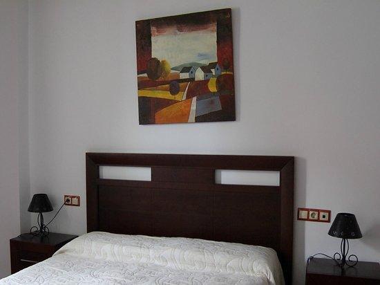 Hospederia Castillo de Alcaudete : Habitación