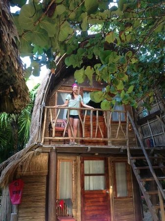 Ahau Tulum : the upstairs Bali Hut