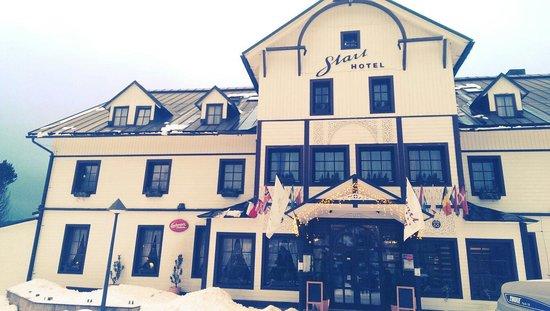 Hotel Start: In winter