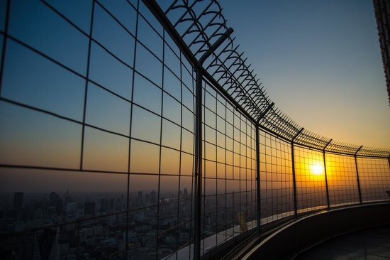 Baiyoke Sky Hotel: On the top of the hotel is a revolving viewpoint.