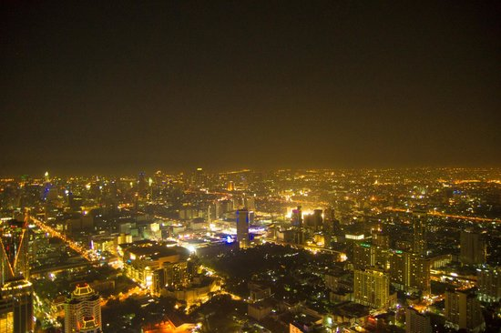 Baiyoke Sky Hotel: Bangkok by night