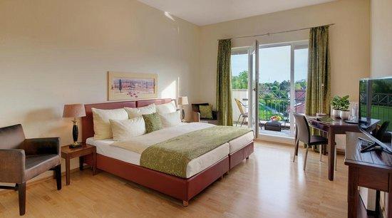 Hotel Villa Medici: Zimmer