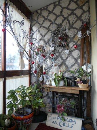La Posada del Colle : veranda