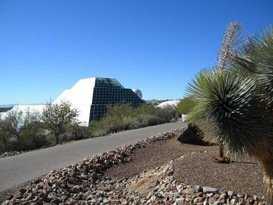 Biosphere 2: outdoor walk3