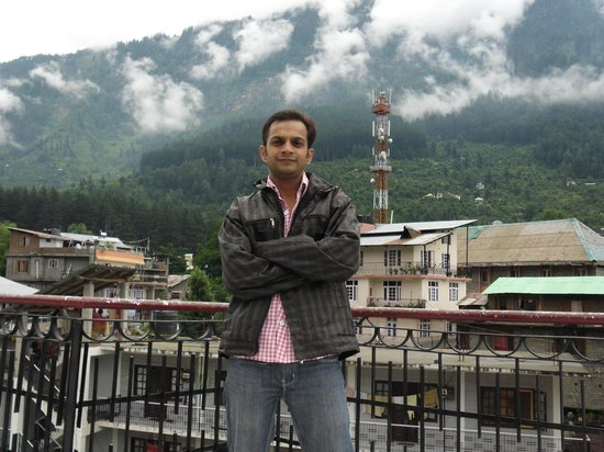 Hotel Ambika : hotel balcony