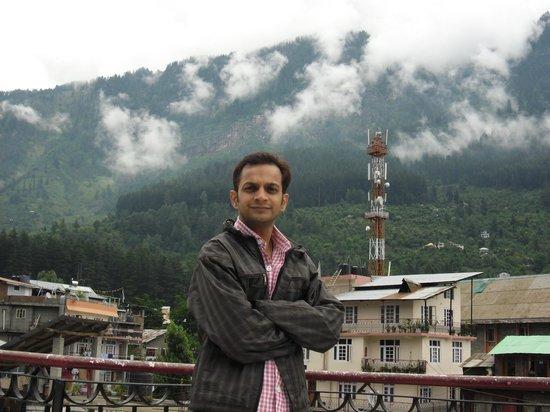 Hotel Ambika : balcony