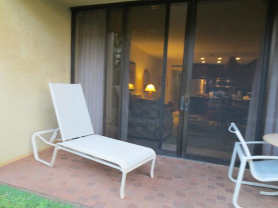 Aston Kaanapali Shores: outside your room