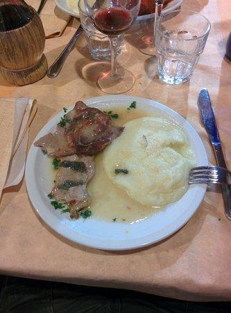 Otello: Saltimbocca alla Romana con Purè di Patate