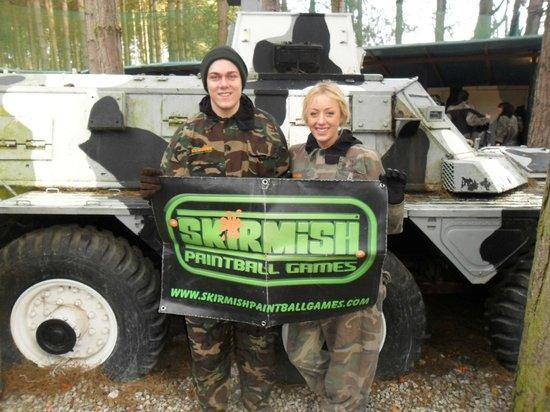 Skirmish Paintball Games Nottingham: 12th January 2014