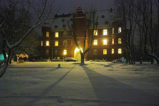 Schloss Spyker: im Winter