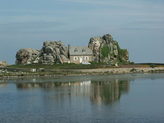 I Need A Holiday Too : Rock House at Plougrescant
