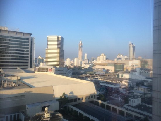 Pathumwan Princess Hotel: View from our room 1215