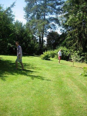 Le Domaine des Ecureuils: Le parc