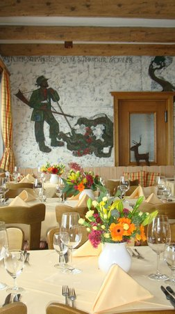 Hotel Roseg Gletscher: A la carte Restaurant Colani