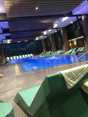 Hôtel les bains de Cabourg : Piscine eau de mer