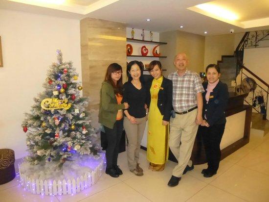 Hanoi Serene Hotel: friendly staff